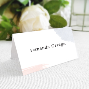 Place cards para matrimonios