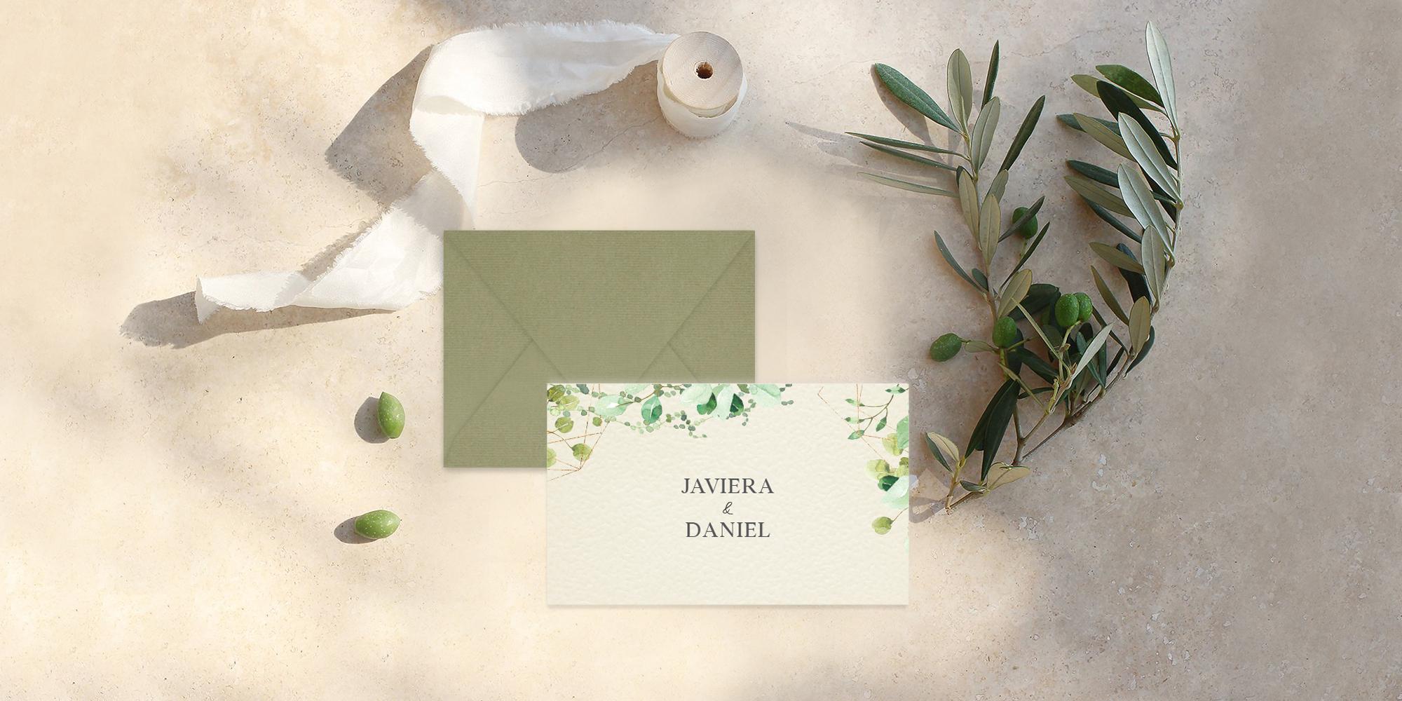 Tarjetas de agradecimiento para matrimonios